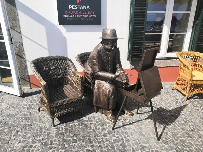 Winston Churchill w Camara de Lobos