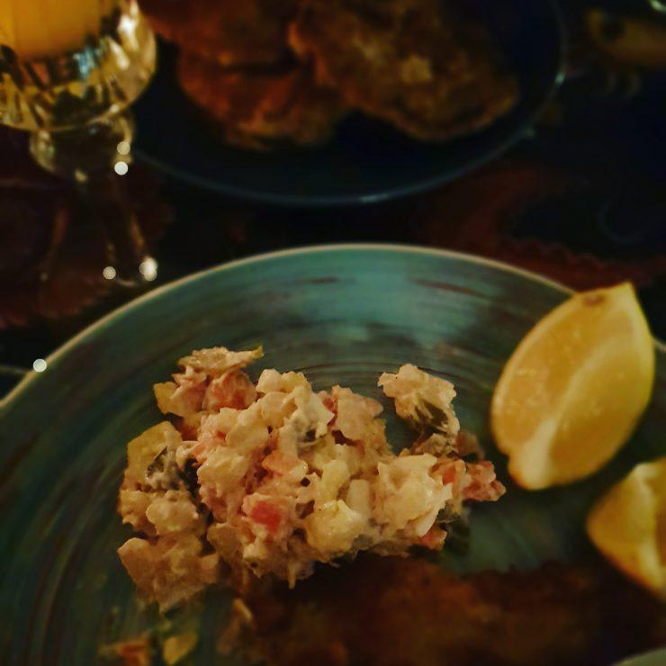 Kuchnia czeska veprovy rizek bramborovy salat