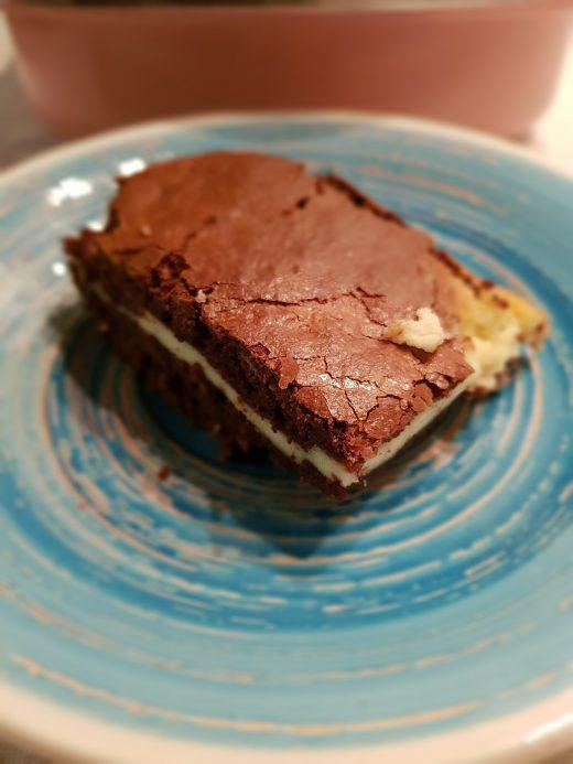 Ciasto czekoladowe z kremowym serkiem