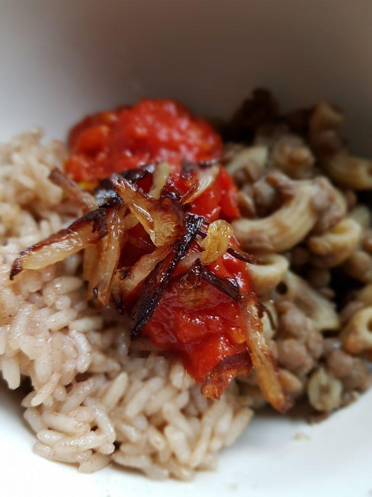 Kuchnia północno afrykańska - koshari