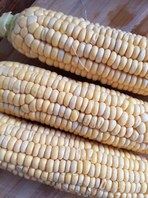 Zupa z kukurydzy i ziemniaków