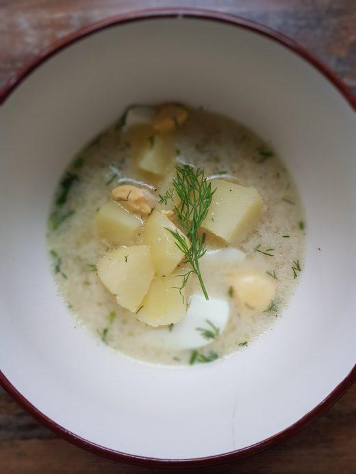 Kaszubska zupa musztardowa