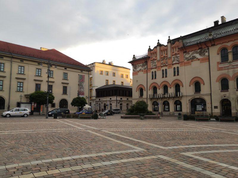 Plac Szczepański Kraków