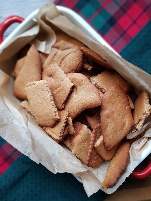Domowe ciasteczka imbirowo-miodowe