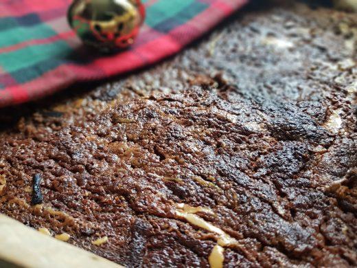 Chałwowe brownie