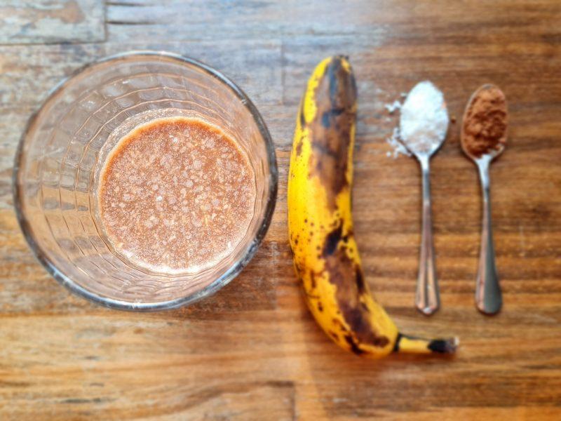 Fit śniadania - koktajle - koktajl kokosowy