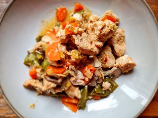 Fit kurczak z warzywami