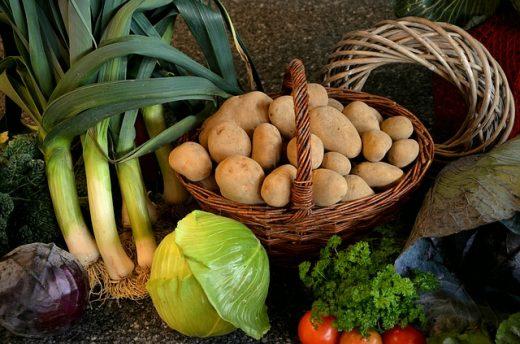 Sezonowe warzywa i owoce: styczeń