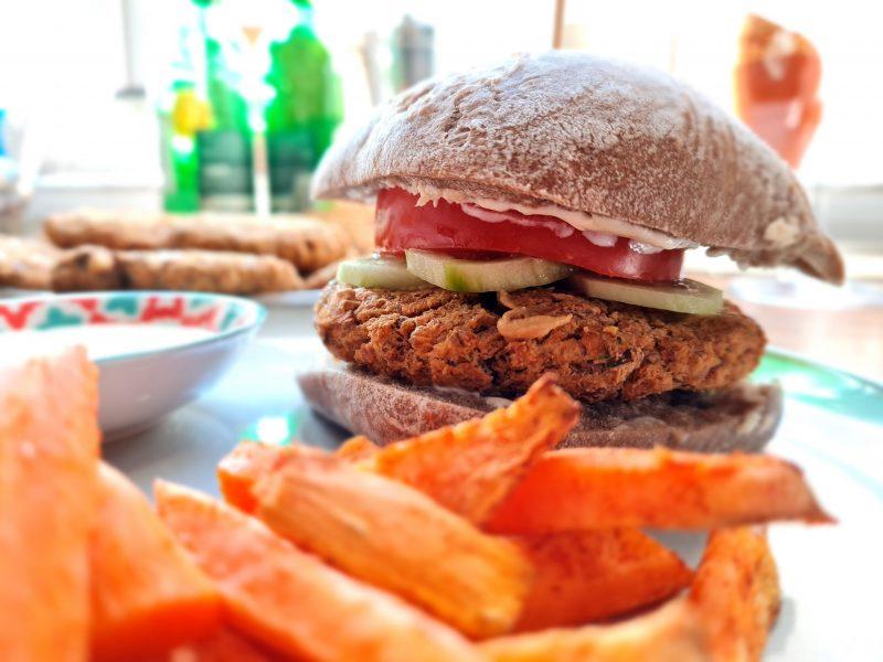 Fit burgery (vege)