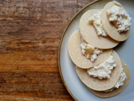 Naleśniki kokosowo-ryżowe - biała dieta przepisy