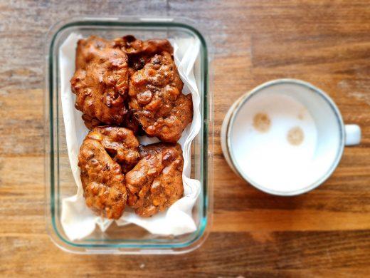 Figowo fistaszkowe fit ciasteczka z penaut butter